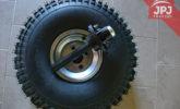 tire and wheel hub 22x12x8