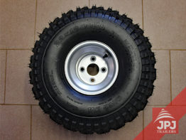 tire with disc 12