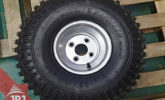tire with discs