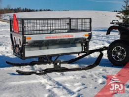 Ski set – ATV trailer Gardener