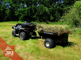 ATV trailer farmer and work quad