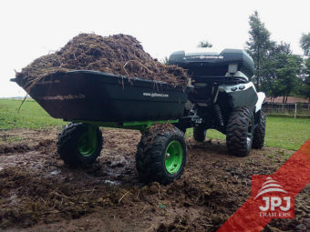 ATV trailer Jober 300 and ATV
