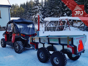 trailer for UTV profi worker