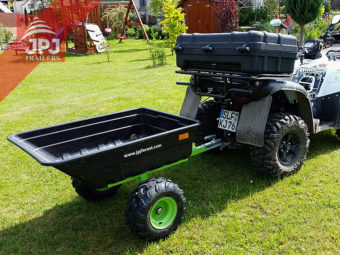 multifunctional trailer jober behind quad TGB