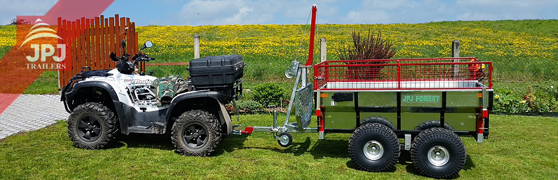 ATV trailer profi worker
