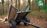 folding ATV trailer Farmer